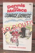 "ct-210501-103 Dennis the Menace / 1980's Comic ""Sunrise Express"""