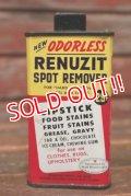 dp-210601-44 RENUZIT SPOT REMOVER / 1950's Handy Can