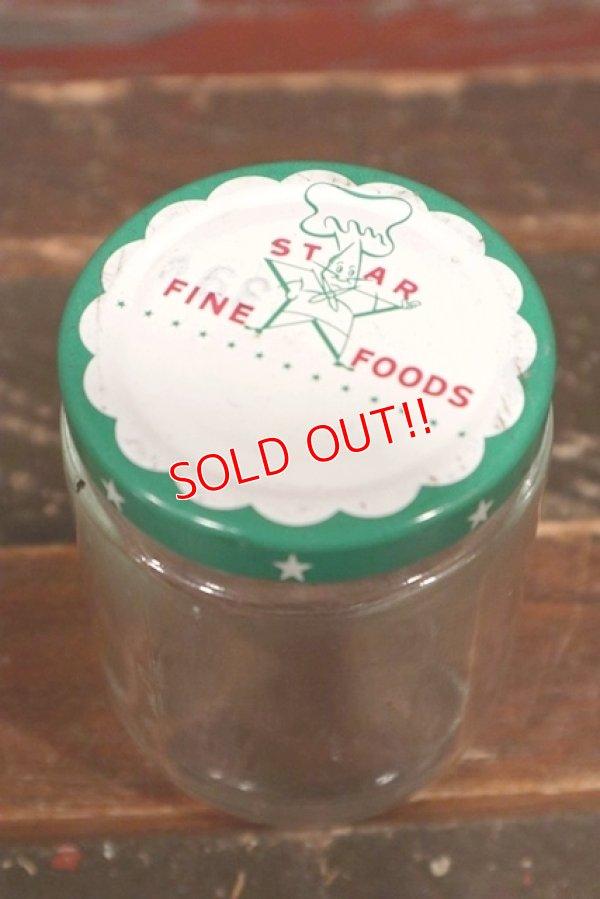 画像1: dp-210601-34 STAR FINE FOODS / Vintage Glass Bottle