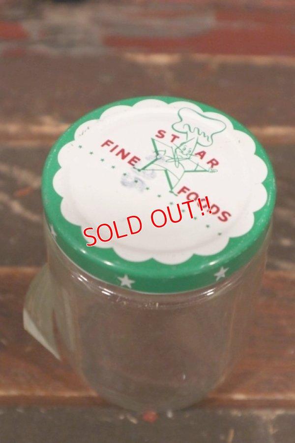 画像1: dp-210601-35 STAR FINE FOODS / Vintage Glass Bottle