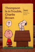 ct-210501-103 Thompson Is in Trouble, Charlie Brown / 1970's Comic Book
