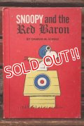 ct-200415-01 Snoopy and the Red Baron / 1960's Picture Book