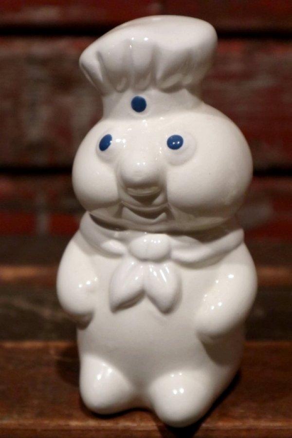 画像2: ct-150616-26 Pillsbury / Poppin Fresh & Poppie Fresh 1988 Ceramic Salt and Pepper Set