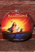 ct-201114-126 Pocahontas / 1990's Pinback (D)