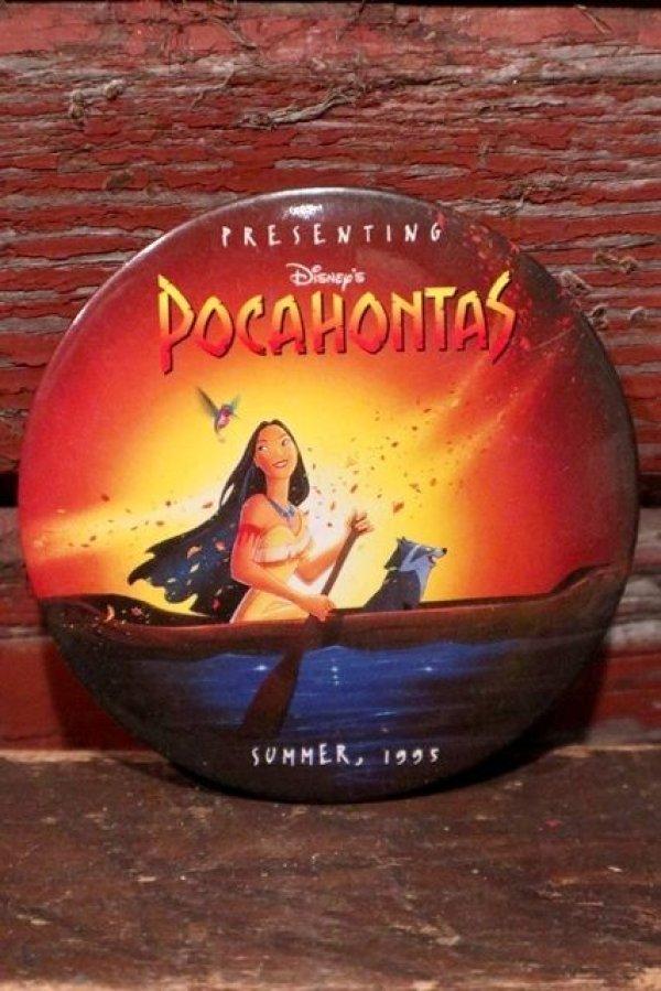 画像1: ct-201114-126 Pocahontas / 1990's Pinback (D)