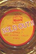 dp-210701-32 Western Motels / Vintage Glass Ashtray