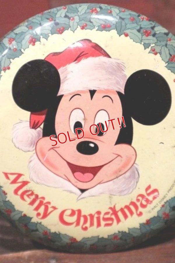 画像2: ct-210701-39 Walt Disney's / 1970's Merry Christmas Collectors Edition Volume I Tin Can