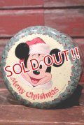 ct-210701-39 Walt Disney's / 1970's Merry Christmas Collectors Edition Volume I Tin Can
