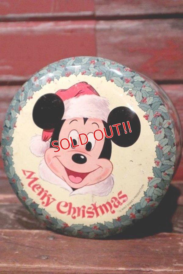画像1: ct-210701-39 Walt Disney's / 1970's Merry Christmas Collectors Edition Volume I Tin Can