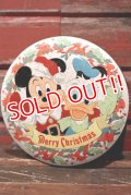 ct-210701-38 Walt Disney's / 1970's Merry Christmas Collectors Edition Volume IV Tin Can
