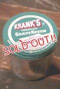 dp-210701-36 KRANK'S / Shave Kream Vintage Bottle