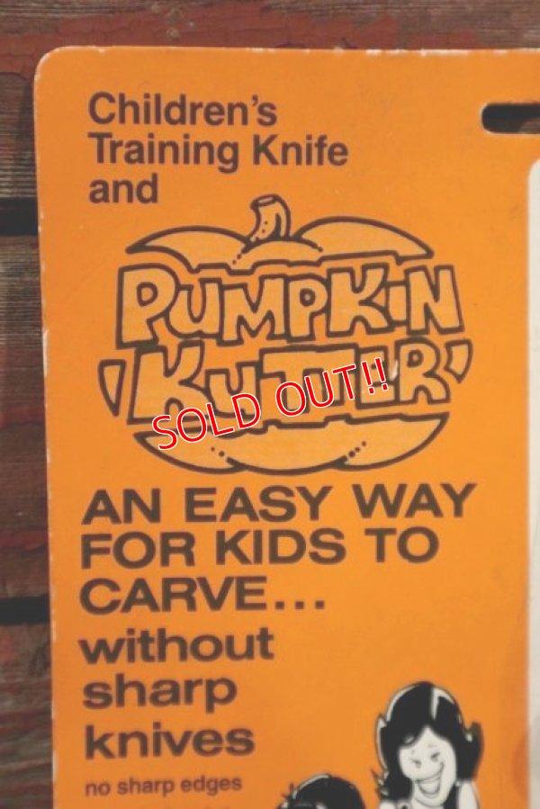 画像2: dp-210401-105 Vintage Children Training Knife and Pumpkin Kutter