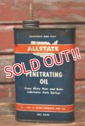 dp-210701-14 ALLSTATE / 1940's-1950's PENETRATING OIL Can