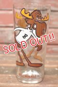 gs-210701-16 Bullwinkle / 1970's Collector Series 16 oz. Glass