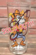 gs-210701-17  Horace & Clarabelle / PEPSI 1978 Collector Series Glass