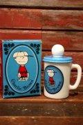 ct-210701-26 Charlie Brown / AVON 1960's-1970's Bubble Bath Mug (Box)