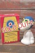 "ct-210701-25 Snoopy / AVON 1960's ""The Flying Ace"" Bubble Bath Bottle (Box)"