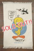 ct-210801-20 Sylvester & Tweety / CANNON 1970's Cotton Towel