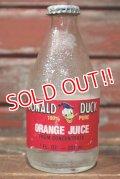 ct-210701-72 Donald Duck / 1980's Orange Juice 7 FL.OZ. Bottle