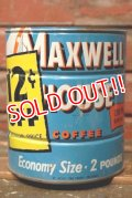 dp-210801-19 MAXWELL HOUSE COFFEE / Vintage Tin Can