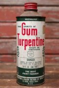 dp-210701-15 Gum Turpentine / Vintage Tin Can