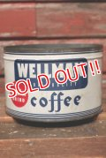 dp-210701-41 WELLMAN COFFEE / Vintage Tin Can