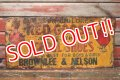 dp-210801-35 RED GOOSE SHOES / 1920's-1930's Metal Sign