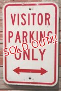 dp-210801-34 Road Sign / VISITOR PARKING ONLY