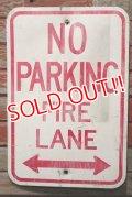 dp-210801-34 Road Sign / NO PARKING FIRE LANE