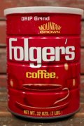 dp-210801-21 Folger's Coffee / 32 OZS.(2LBS.) Tin Can