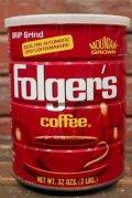 dp-210801-22 Folger's Coffee / 32 OZS.(2LBS.) Tin Can