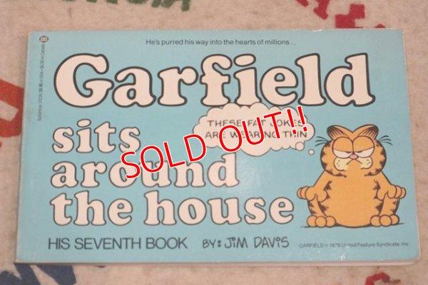 """画像1: ct-210501-94 Garfield / 1983 Comic """"Garfield sits around the house """""""