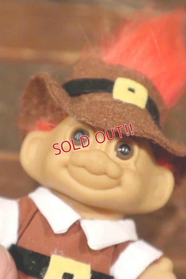 画像2: ct-210701-58 Trolls / RUSS Brown Cloth & Hat Orange Hair Doll