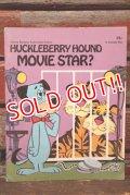 ct-210701-116 Huckleberry Hound / Movie Star? 1974 Picture Book