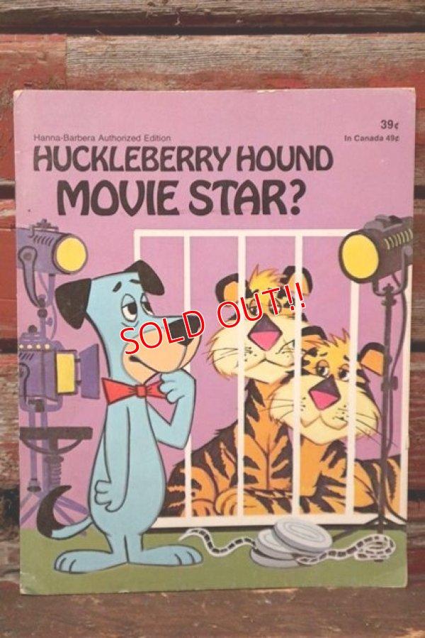 画像1: ct-210701-116 Huckleberry Hound / Movie Star? 1974 Picture Book