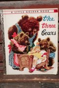 """ct-210901-43 a Little Golden Book / 1940's """"The Three Bears"""" Picture Book"""
