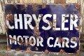dp-210901-36 CHRYSLER MOTOR CARS 1920's-1930's Sign