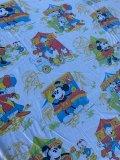 ct-210801-58 Disney / 1970's Flat Sheet (Twin size)