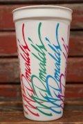 dp-211001-01 McDonald's / 1990's Plastic Cup