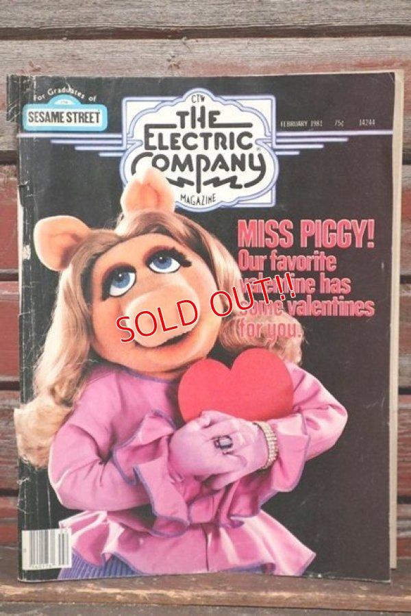 """画像1: ct-210801-86 THE ELECTRIC CAMPANY MAGAZINE / """"Miss Piggy"""" February1981"""