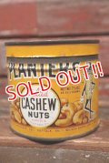 ct-211001-28 PLANTERS / MR.PEANUT 1930'-1940's Salted Cashew Nuts Can