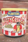 ct-211001-27 PLANTERS / MR.PEANUT 1990's NUTTY CRUNCH Tin Can