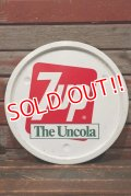 """dp-211001-32 7up / 1970's The Uncola"""" Tin Tray"""