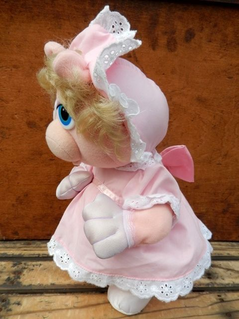 ct 130423 10 baby miss piggy little boppers 80 s plush doll
